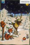 Adventskalender Hirsch und Fuchs