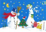 Adventskalender zwei Schneemänner aus 98480/8