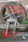 Postkarte Geburtstag - Wasserrad