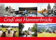 Postkarte Hammerbrücke