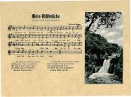 """Postkarte """"Mein Rißbrück"""""""