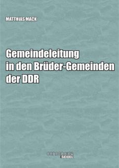 Gemeindeleitung in den Brüder-Gemeinden der DDR