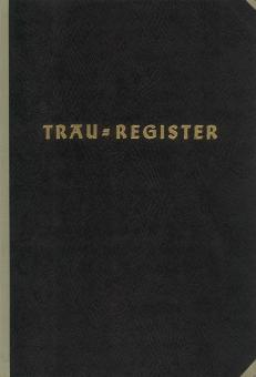 Trau-Register, Fadenstichbindung