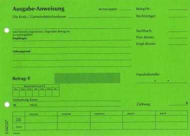Ausgabeanweisung - grün