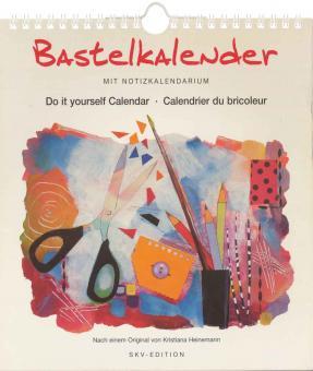 Bastelkalender weiß 21,5x24cm 84.752 nach Original von Kristina Heinemannn