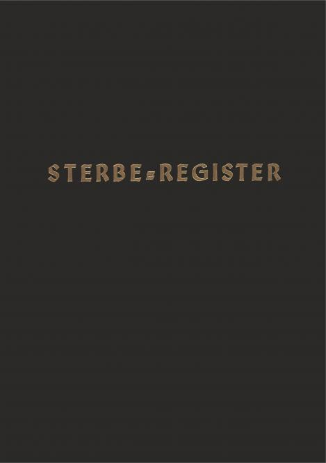 Sterbe-Register, Fadenstichbindung