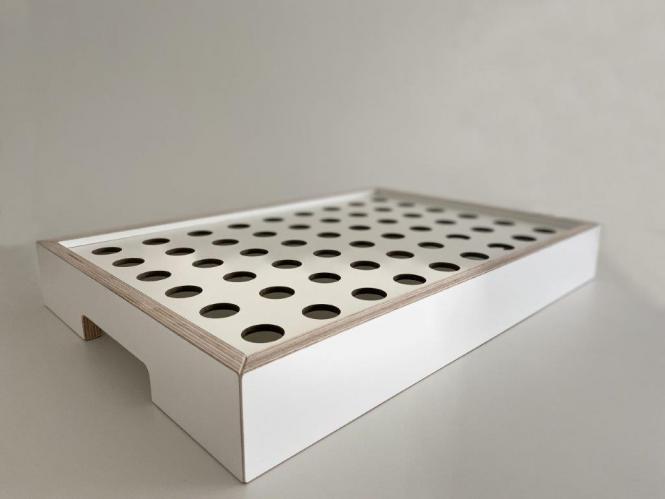 HOM Abendmahl-Kelch-Tablett für 54 Einzelkelche
