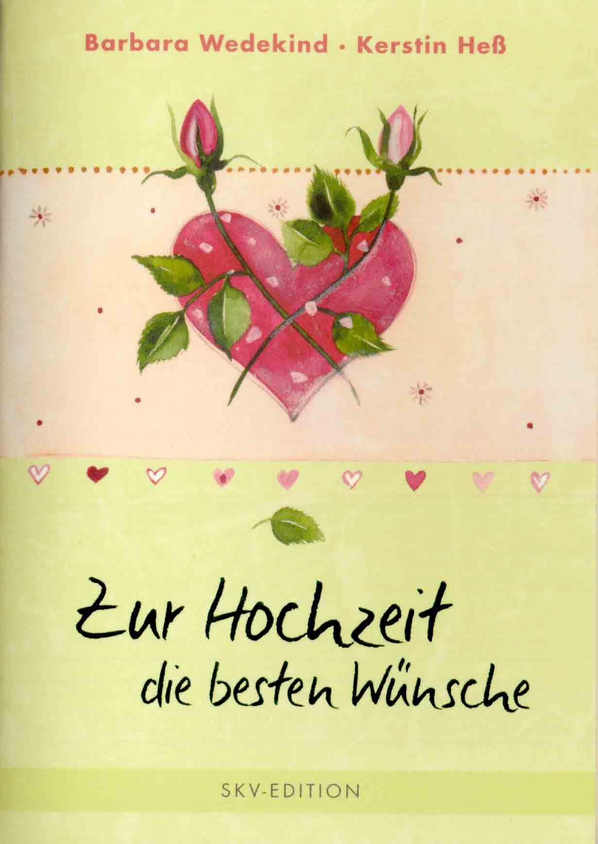 Verlagsshop | Zur Hochzeit die besten Wünsche | Bücher