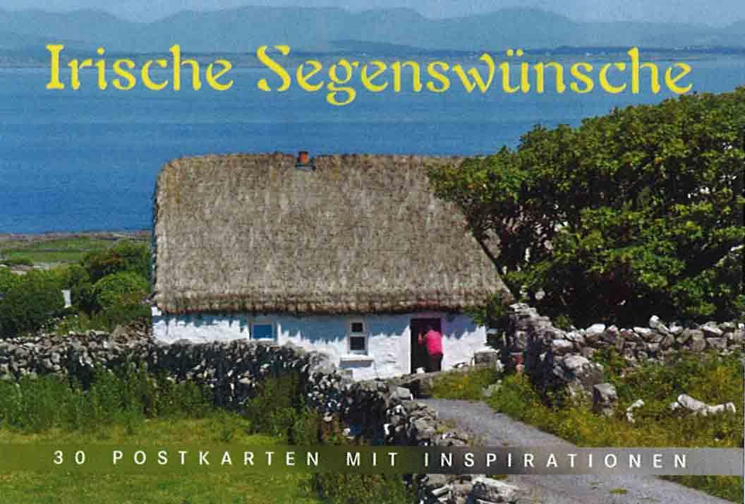 verlagsshop foto postkarten buch irische segensw nsche. Black Bedroom Furniture Sets. Home Design Ideas