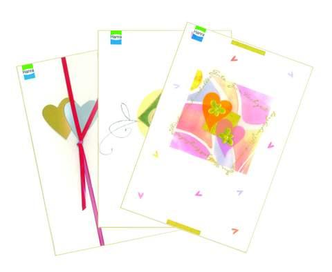 Verlagsshop 98405 Display Hochzeitskarten Inhalt 48 Stuck