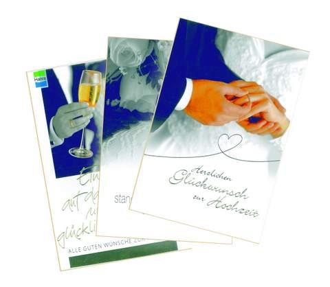 Verlagsshop 98509 Display Hochzeitskarten Inhalt 48 Stuck